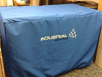 Custom Booth Cover for Industrial Netting