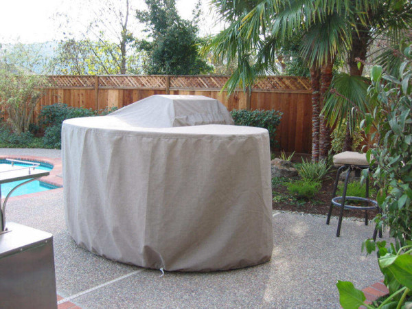 Custom Outdoor Island Covers