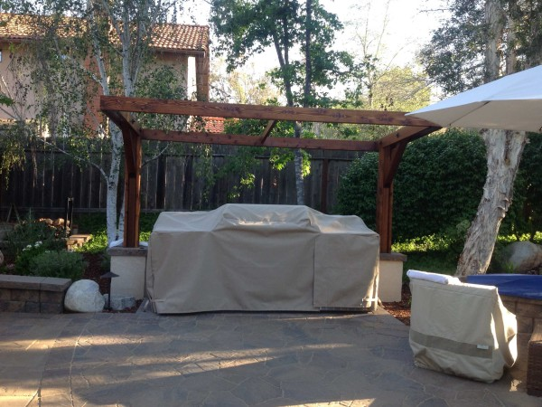 Custom Outdoor Kitchen Cover