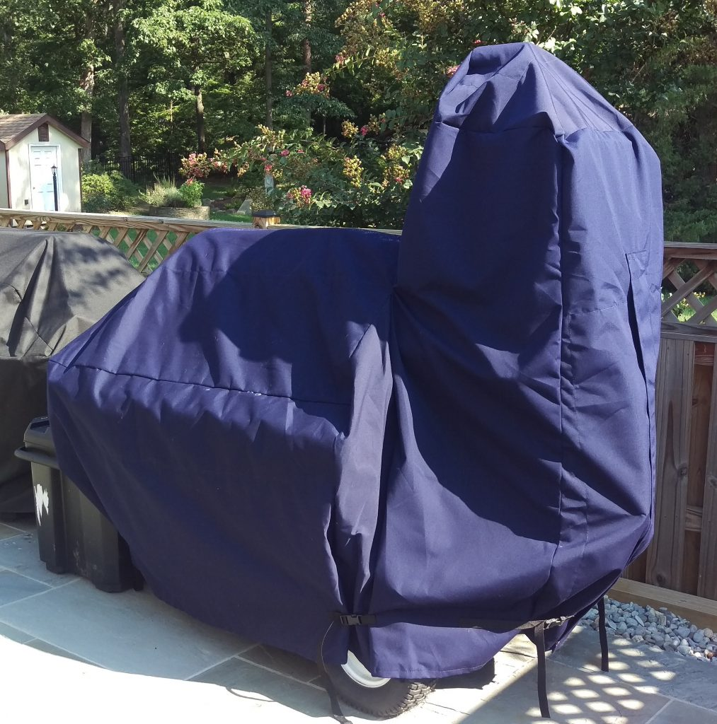 Custom Lang 48 Deluxe Smoker Cover