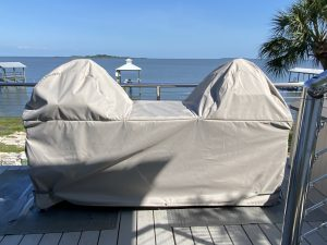 Grill Wraps_Image of Grill Cover in Cedar Key Florida